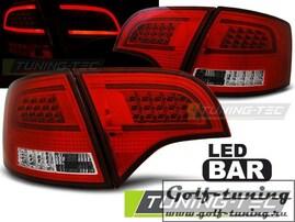 Audi A4 B7 04-08 Универсал Фонари светодиодные, красно-белые Lightbar design