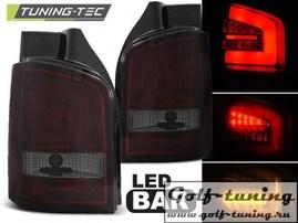 VW T5 03-09 Фонари светодиодные, красно-тонированные Lighbar