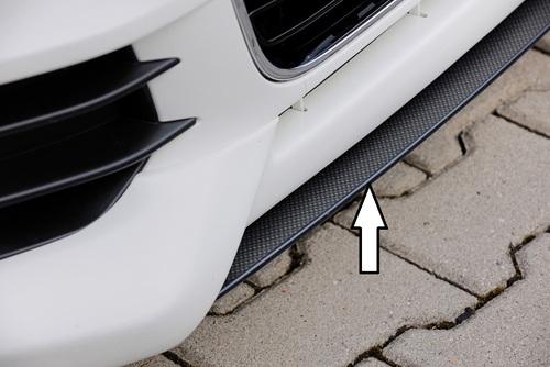 Сплиттер для спойлера переднего бампера Rieger 00044100 carbon look