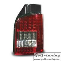 VW T5 Фонари светодиодные красно-белые