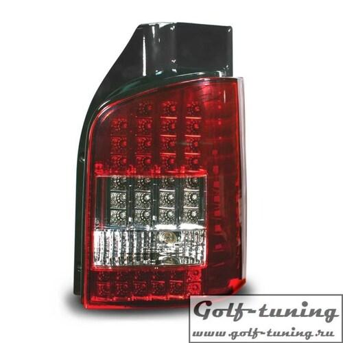 VW T5 03-09 Фонари светодиодные красно-белые