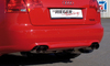 Audi A4 B7 04-08 Накладка на задний бампер