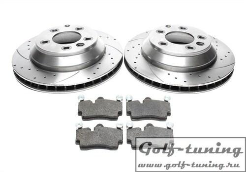 Audi Q7 / Porsche Cayenne / VW Touareg Комплект спортивных тормозных дисков и колодок