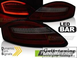 Porsche Boxster 987 05-08 Фонари светодиодные, красно-тонированные