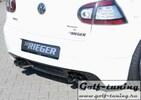 VW Golf 5 Глушитель rieger 4x76mm Bull-X