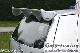 Toyota Corolla E12 01-07 Спойлер на крышку багажника