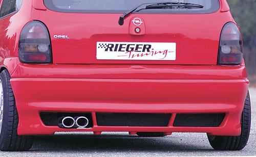 Opel Corsa B Накладка на задний бампер