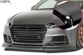 Audi TTS FV/8S 2014- Спойлер переднего бампера глянцевый