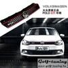 VW Polo Sedan 09-14 Решетка радиатора GTI Look