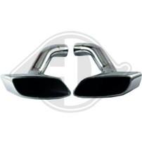 BMW X6 E71 08-14 Насадки на глушитель в стиле M