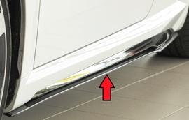 Audi TT/TTS/TT-RS (8J-FV/8S) S-Line 18- Накладки на штатные пороги