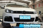 VW Golf 6 Бампер передний R20 Look