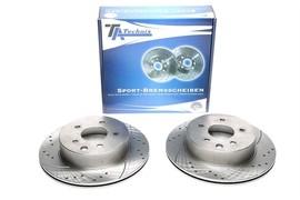Nissan Leaf/Qashqai/ X-Trail(T30)/Renault Koleos Комплект спортивных тормозных дисков