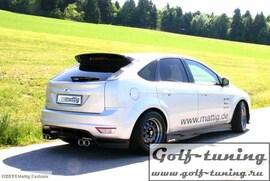 Ford Focus 08- Накладка на задний бампер