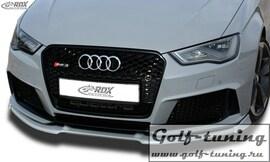 Audi RS3 8V 15- Спойлер переднего бампера Vario-X
