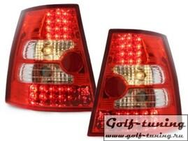 VW Golf 4 Универсал Фонари светодиодные, красно-белые