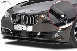 BMW 5er GT F07 09- Накладка на передний бампер carbon look