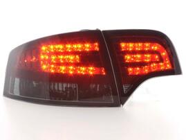 Audi A4 B7 04-08 Седан Фонари светодиодные, красно-тонированные