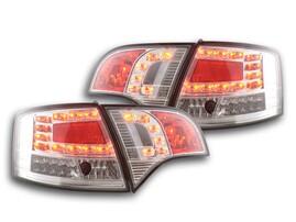 Audi A4 B7 04-08 Универсал Фонари светодиодные, хром
