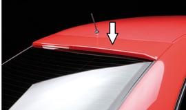 Audi A4 B5 95-01 Седан Козырек на заднее стекло