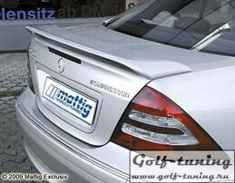Mercedes W203 00-07 Спойлер на крышку багажника