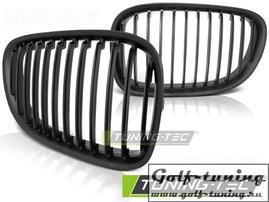 BMW F01 08-12 Решетки радиатора (ноздри) черные, матовые