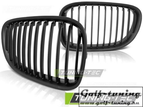 BMW F01 08-12 Решетки радиатора (ноздри) матовые