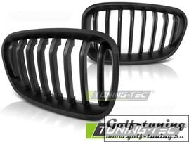 BMW F20/F21 11-14 Решетки радиатора (ноздри) черные, матовые