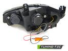 BMW X5 E70 07-13 Фары TUBE LIGHT DRL черные