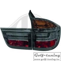 BMW X5 E70 07-10 Фонари светодиодные, тонированные Lightbar design