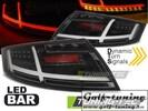 Audi TT 06-14 Фонари с дизайном Ligthbar светодиодные, черные