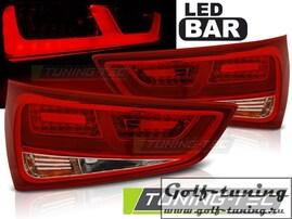 Audi A1 10-14 Фонари светодиодные, красно-белые Lightbar
