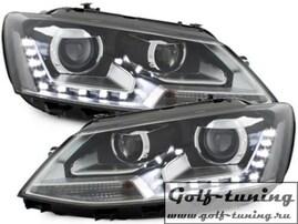 VW Jetta 6 11-15 Фары GTI Look черные