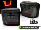 VW T4 90-03 Фонари светодиодные LED BAR, тонированные