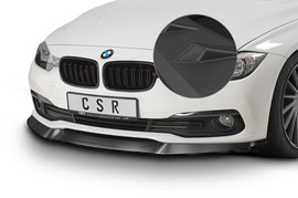 BMW F30/F31/F34 07/2015-2019 (LCI) Накладка на передний бампер матовая