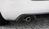 Audi A4 8H 02-05 Cabrio Накладка на задний бампер carbon look