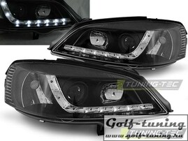 Opel Astra G 97-04 Фары Devil eyes, Dayline черные