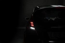 Ford Fiesta MK7 13-17 Фонари светодиодные, красно-белые