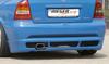 Opel Astra G Купе/Кабрио Накладка на задний бампер