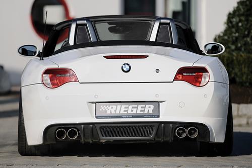 BMW Z4 E85 03-09 Глушитель rieger type 12