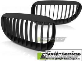 BMW E63/E64 02-10 Решетки радиатора (ноздри) черные, матовые