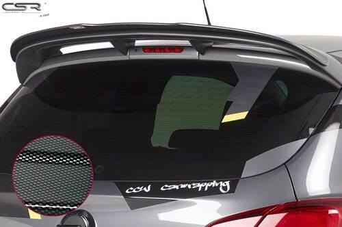 Opel Corsa E OPC 15-18 Спойлер на крышку багажника Carbon look