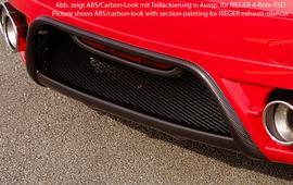 Audi TT 8J 06-10 Накладка на задний бампер Carbon Look