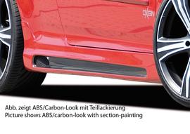 VW Golf 5 3Дв GTI/R32 Накладки на пороги Carbon Look