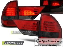 BMW X3 04-06 Фонари светодиодные, красно-тонированные
