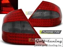 Mercedes CLK W209 03-10 Фонари светодиодные, красно-тонированные