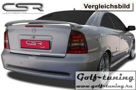 Opel Astra G Купе/Кабрио/Хэтчбек 2дв Спойлер на крышку багажника X-Line design