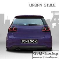 VW Golf 5 Фонари светодиодные, тонированные
