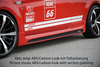 Ford Focus 2 04-11 5Дв Накладки на пороги Carbon Look