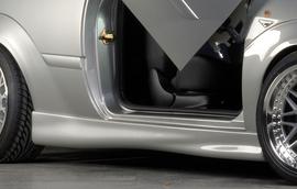 Ford Focus 1 98-04 3D Накладки на пороги